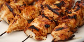 Hot Peri Peri Chicken Kebab